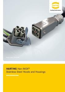 HARTING Han-INOX Stainless Steel Hoods and Housings