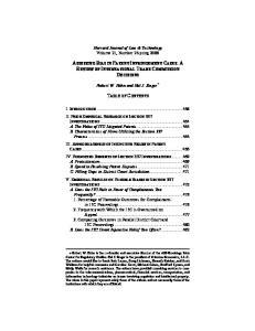 Harvard Journal of Law & Technology Volume 21, Number 2 Spring Robert W. Hahn and Hal J. Singer