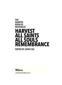HARVEST ALL SAINTS ALL SOULS REMEMBRANCE