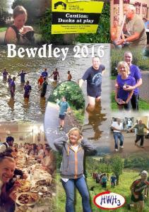 Hash trip - Bewdley 2016