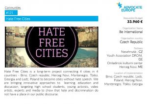 Hate Free Cities #121