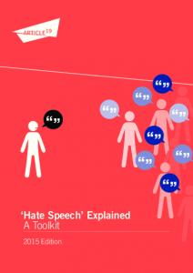 Hate Speech Explained A Toolkit