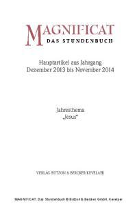 Hauptartikel aus Jahrgang Dezember 2013 bis November 2014