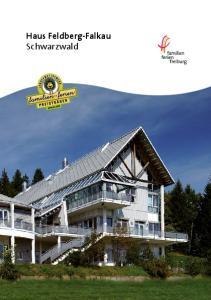 Haus Feldberg-Falkau Schwarzwald