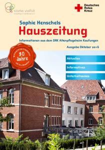 Hauszeitung Informationen aus dem DRK Altenpflegeheim Kaufungen