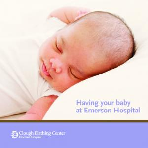 Having your baby at Emerson Hospital