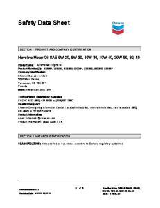 Havoline Motor Oil SAE 5W-20, 5W-30, 10W-30, 10W-40, 20W-50, 30, 40