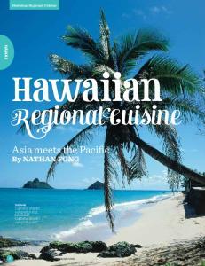 Hawaiian Regional Cuisine