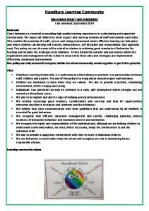 Hazelbury Learning Community