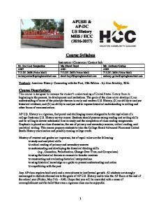 HCC ( ) Course Syllabus