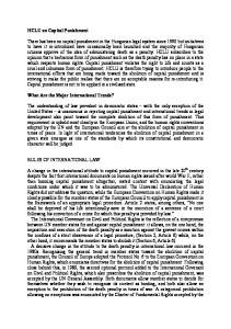 HCLU on Capital Punishment