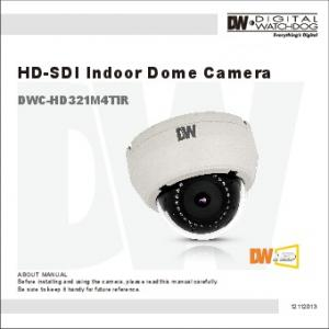 HD-SDI Indoor Dome Camera