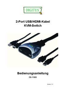 HDMI-Kabel KVM-Switch