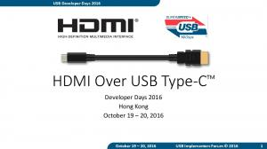 HDMI Over USB Type-C TM