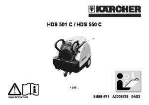 HDS 550 C