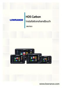 HDS Carbon. Installationshandbuch.  DEUTSCH