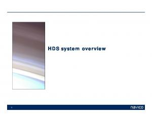 HDS system overview 1