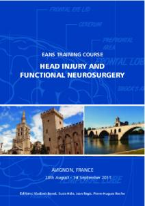 HEAD INJURY AND FUNCTIONAL NEUROSURGERY