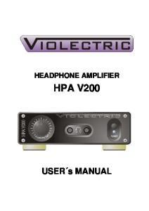 HEADPHONE AMPLIFIER HPA V200