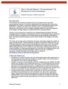 Headwaters Economics Updated January 2014
