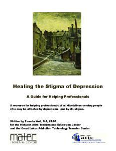 Healing the Stigma of Depression