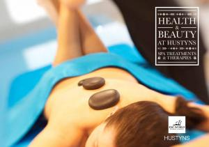 HEALTH BEAUTY AT HUSTYNS SPA TREATMENTS & THERAPIES