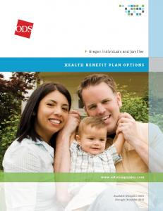 health benefit plan options