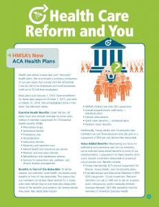 Health Care Reform and You
