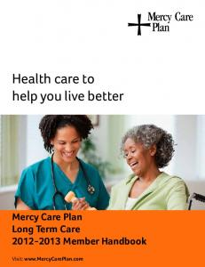 Health care to help you live better