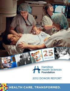 Health Care, Transformed