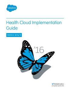 Health Cloud Implementation Guide