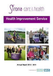 Health Improvement Service