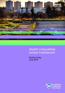 Health Inequalities Action Framework