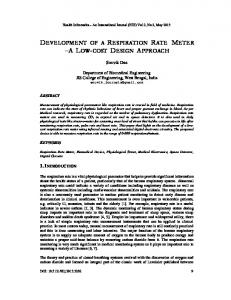 Health Informatics - An International Journal (HIIJ) Vol.2, No.2, May Souvik Das
