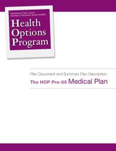 Health Options Program