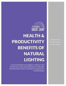 HEALTH & PRODUCTIVITY