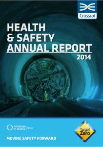 HEALTH & SAFETY ANNUAL REPORT