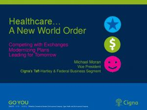 Healthcare A New World Order
