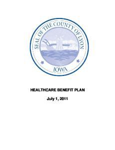 HEALTHCARE BENEFIT PLAN