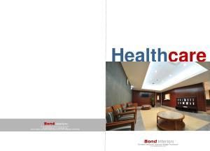 Healthcare. Bond interiors. Turnkey contracts interior design Furniture