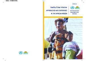 Healthy Cities Initiative: