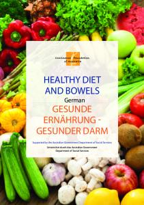 HEALTHY DIET AND BOWELS German