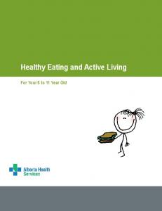 Healthy Eating and Active Living