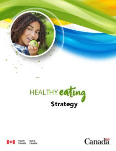 HEALTHY Eating. Strategy
