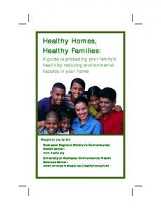 Healthy Homes, Healthy Families: