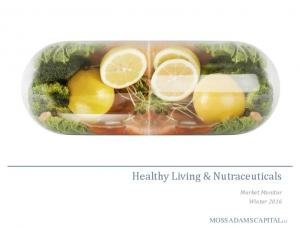 Healthy Living & Nutraceuticals