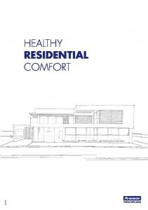 HEALTHY RESIDENTIAL COMFORT