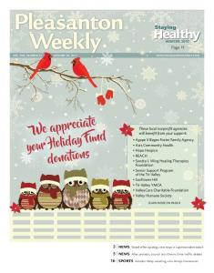 Healthy. We appreciate your Holiday Fund donations. Staying. Page 11