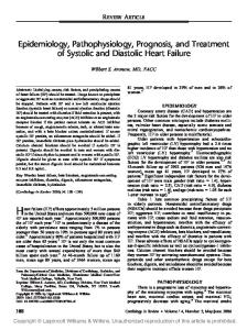 Heart failure (HF) affects approximately 5 million persons