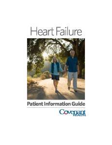 Heart Failure. Patient Information Guide
